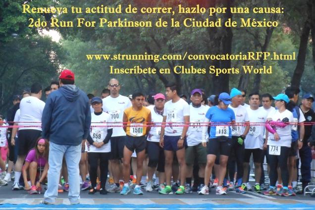 """El """"Run For Parkinson Cd de México"""" está destinado a unir emociones, esperanzas y alegrías a favor de la cura del Parkinson"""