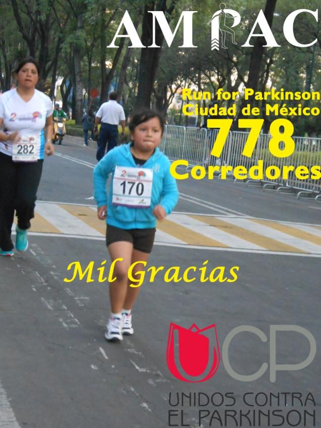 Run for Parkinson de la Ciudad  de México (AMPAC)