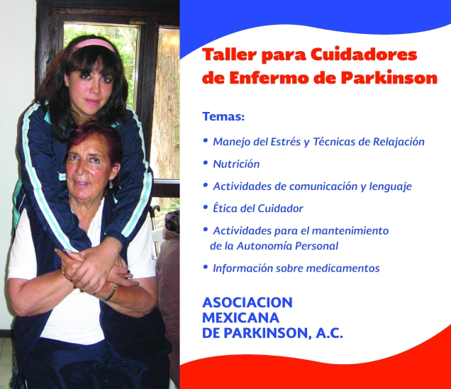 Taller para Cuidadores de Enfermos de Parkinson.