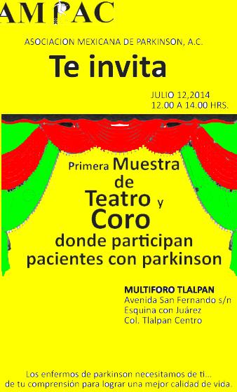 La primavera avanza: Teatro y Coro de Enfermos de Parkinson