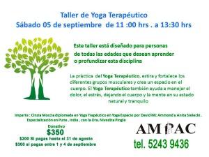 Taller de Yoga septiembre